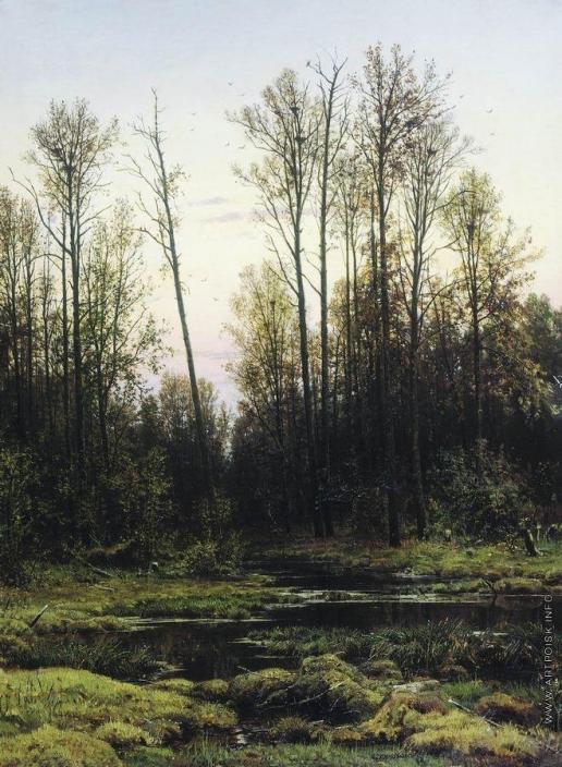 Шишкин И. И. Лес весной