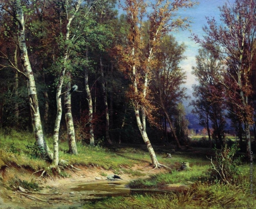 Шишкин И. И. Лес перед грозой
