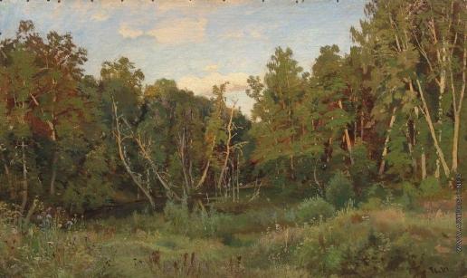 Шишкин И. И. Лесной пейзаж