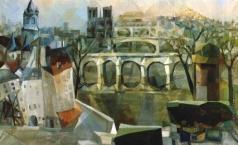 Экстер А. А. Вид Парижа