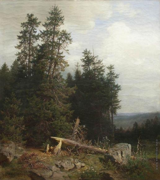 Шишкин И. И. На лесной опушке