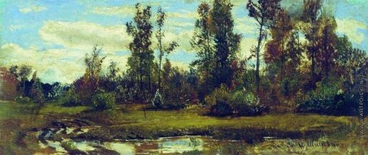 Шишкин И. И. Озеро в лесу