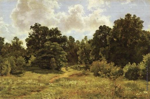 Шишкин И. И. Опушка лиственного леса
