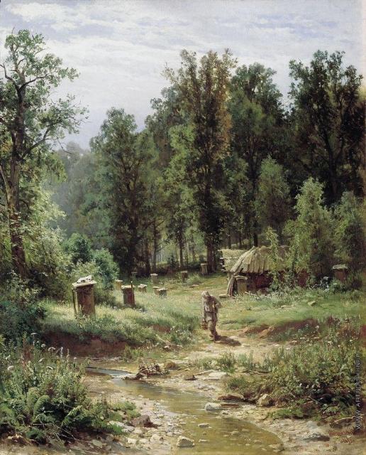 Шишкин И. И. Пасека в лесу