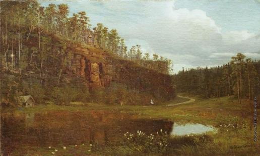 Шишкин И. И. Перед заходом солнца