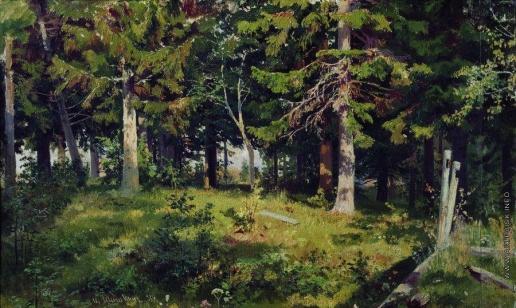 Шишкин И. И. Поляна в лесу