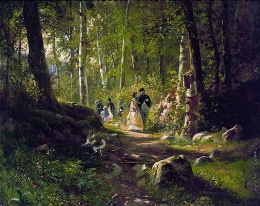Шишкин И. И. Прогулка в лесу