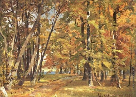 Шишкин И. И. Ранняя осень