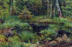 Шишкин И. И. Родник в лесу