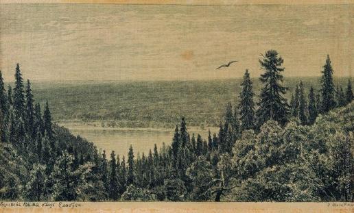 Шишкин И. И. С берегов Камы близ Елабуги