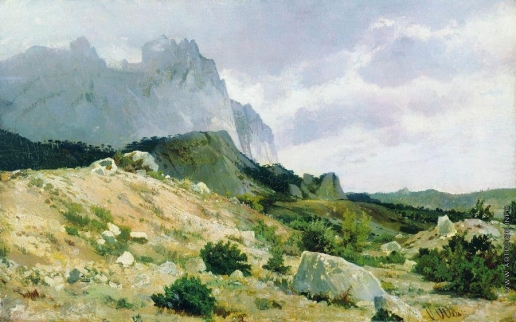 Шишкин И. И. Скалистый берег