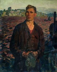 Максимов К. М. Портрет тракториста Широкова