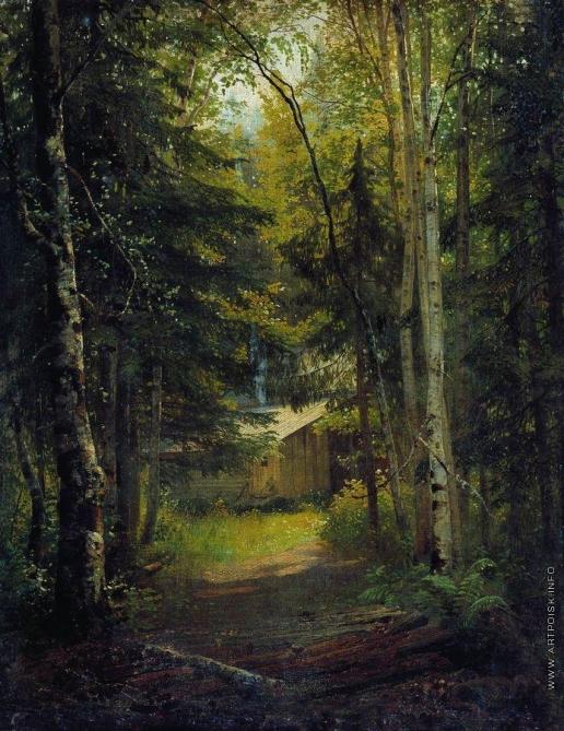 Шишкин И. И. Сторожка в лесу