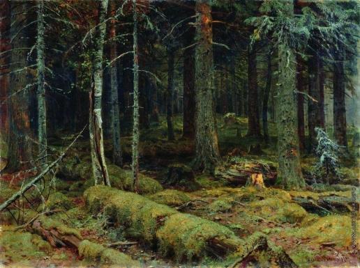 Шишкин И. И. Темный лес