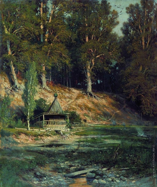 Шишкин И. И. Часовня в лесу