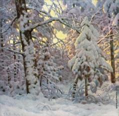 Шультце И. Ф. Зима