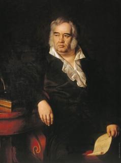 Эггинк И. Е. Портрет баснописца И.А. Крылова