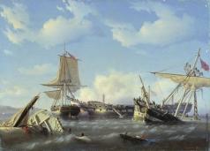 Юшков Ф. О. Абордаж. Эпизод из английских морских войн