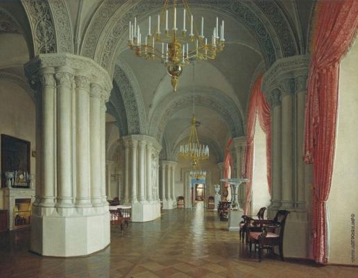 Юшков Ф. О. Готический зал в Зимнем дворце