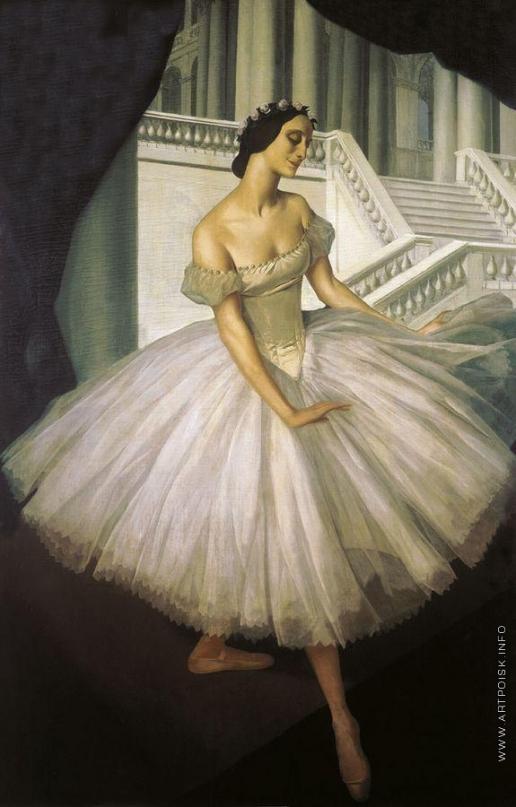 Яковлев А. Е. Портрет балерины Анны Павловой