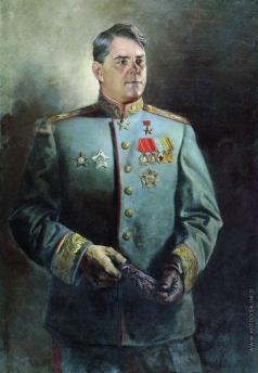 Яковлев В. Н. Портрет А.М. Василевского