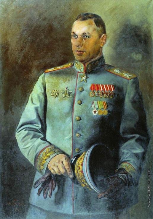 Яковлев В. Н. Портрет К.К. Рокоссовского
