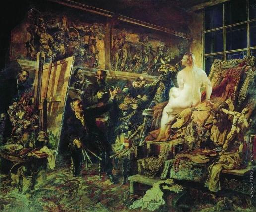Яковлев В. Н. Спор об искусстве