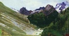Ярошенко Н. А. В горах