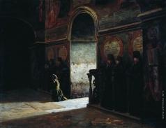 Ярошенко Н. А. В монастыре