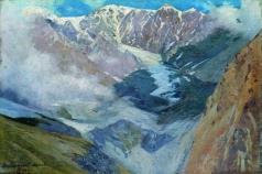 Ярошенко Н. А. Девдаракский ледник