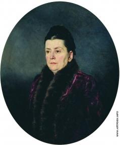 Ярошенко Н. А. Женский портрет