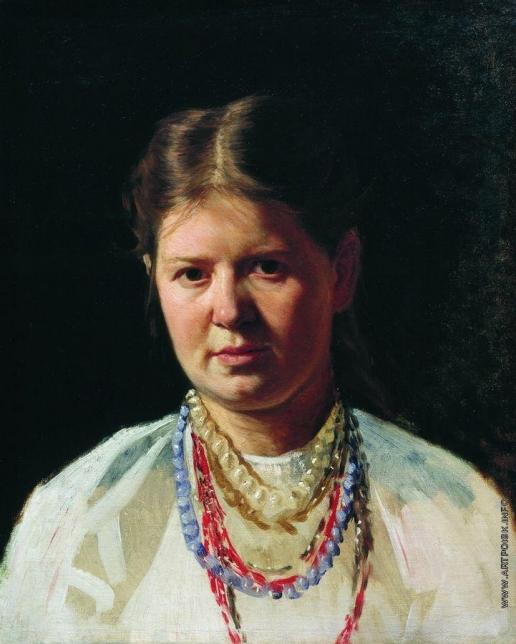 Ярошенко Н. А. Женский портрет (Украинка)