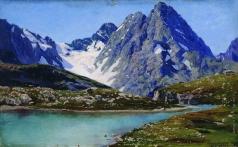 Ярошенко Н. А. Кавказ. Тебердинское озеро