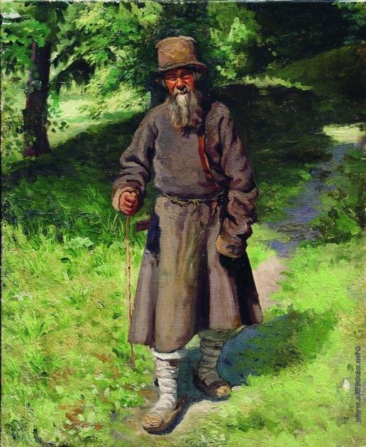 Ярошенко Н. А. Крестьянин в лесу
