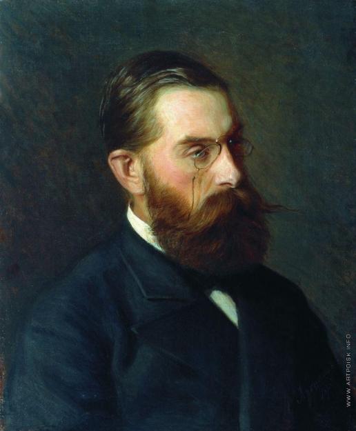 Ярошенко Н. А. Мужской портрет