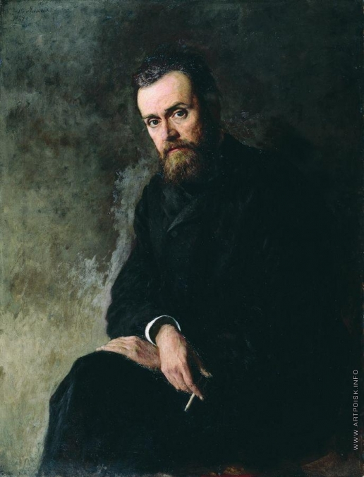 Ярошенко Н. А. Портрет Г.И. Успенского