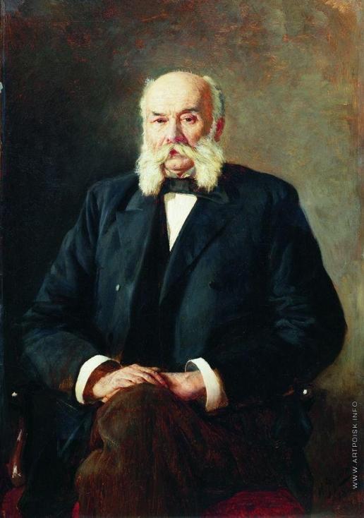 Ярошенко Н. А. Портрет И.А. Гончарова
