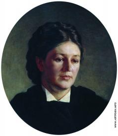 Ярошенко Н. А. Портрет Марии Павловны Ярошенко