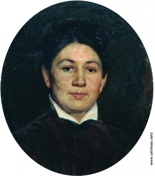 Ярошенко Н. А. Портрет Марии Павловны Ярошенко, жены художника