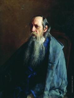 Ярошенко Н. А. Портрет Михаила Евграфовича Салтыкова-Щедрина