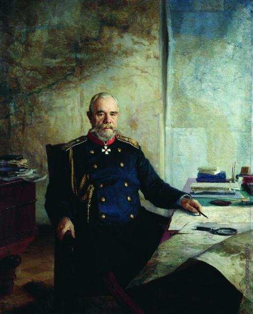Ярошенко Н. А. Портрет Николая Николаевича Обручева