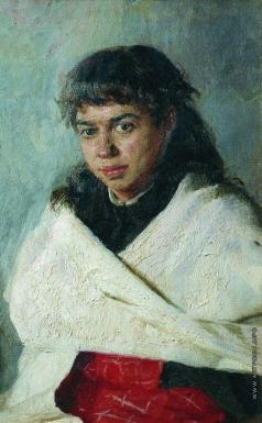 Ярошенко Н. А. Портрет Поликсевны Сергеевны Соловьевой