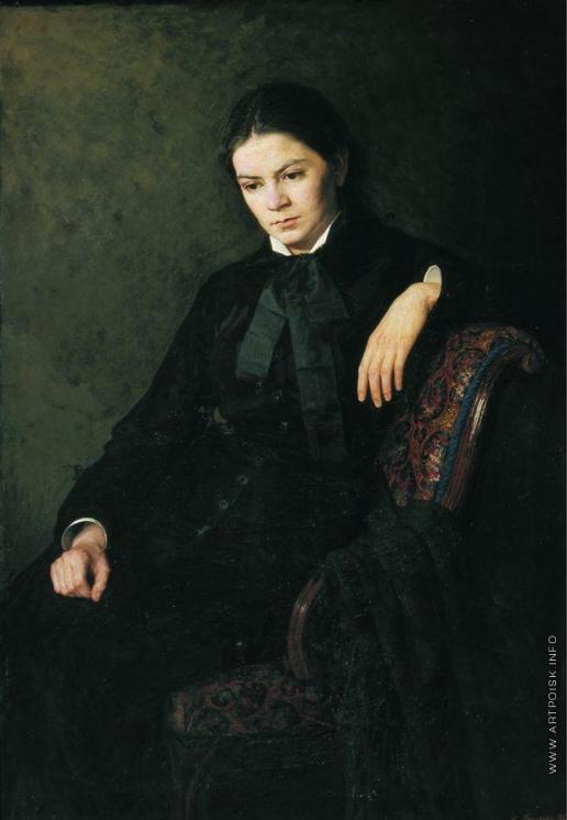 Ярошенко Н. А. Портрет неизвестной