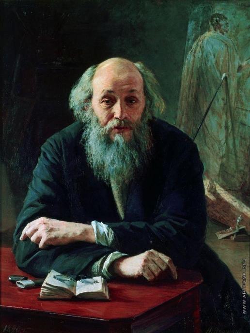 Ярошенко Н. А. Портрет художника Николая Николаевича Ге