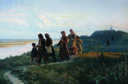 Ярошенко Н. А. Слепцы (Слепые калеки под Киевом)