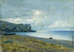 Ярошенко Н. А. Судакская бухта в Крыму