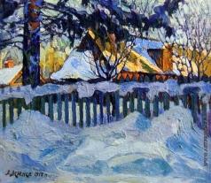 Лежнев А. П. Зима