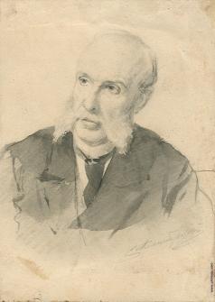 Александровский С. Ф. Портрет пожилого господина