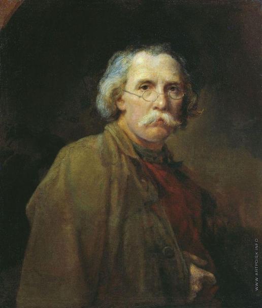 Алексеев Н. М. Автопортрет