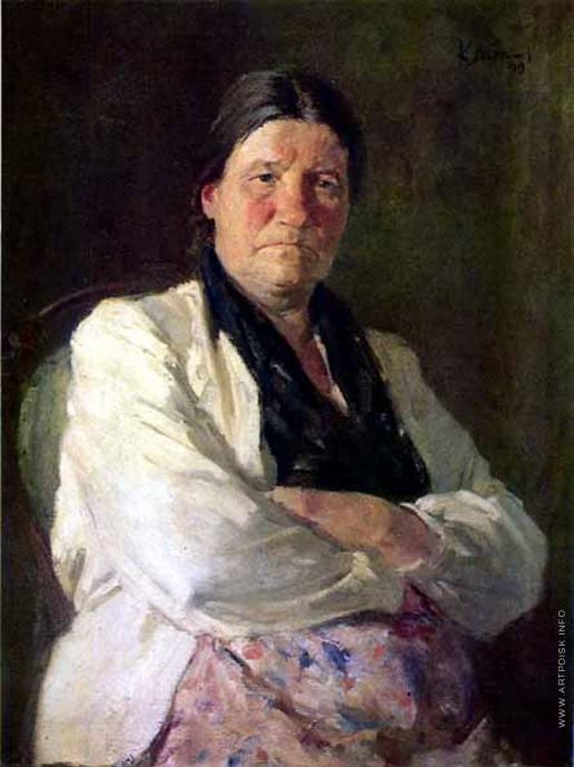 Максимов К. М. Портрет матери